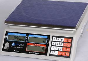 Part Counting Scale 50 lb X 0.001 lb/ 20 kg x 0.5  g, Pan 11