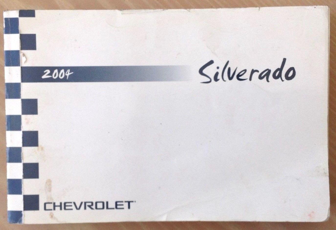 Chevy Chevrolet 2004 SIVERADO Owner Manual
