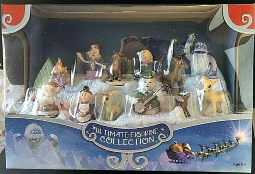Rudolph The Red Nosed Reindeer Ultimate Figurine Collection Misfit Toys NEW 🎄