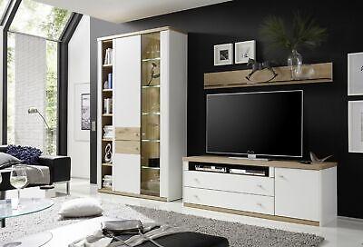 Wehrsdorfer Wohnwand Andorra Wohnwände Wohnzimmer Echtholz furniert online kaufen