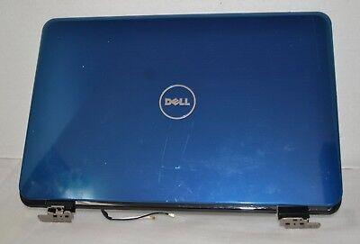 "Genuine Dell Inspiron 14R N4110 14"" Blue LCD Top Lid Back Cover W/ Hinges KXDFR  comprar usado  Enviando para Brazil"