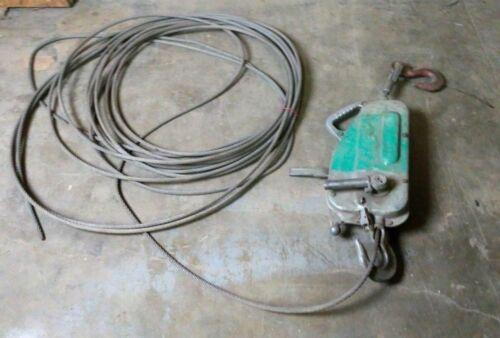Griphoist Tirfor 2758M Manual Cable Hoist