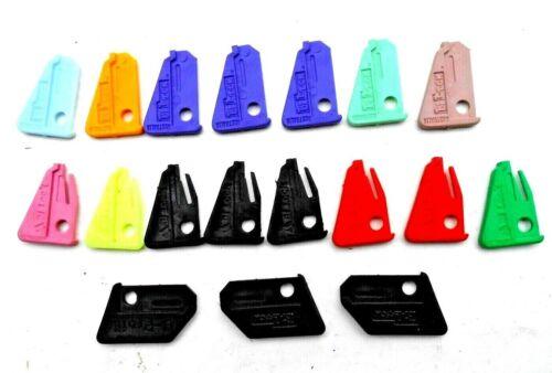 18 new BiLock  plastic  key insert