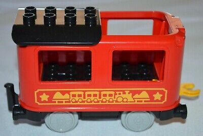 Lego Duplo 10874 Push & Go Steam Train Replacement Passenger Carriage Car Coach
