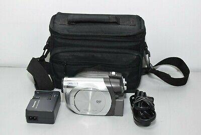 Panasonic VDR-D100 Mini DVD Palmcorder Camcorder 30X Optical Zoom 100 X Zoom Mini