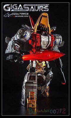 Transformers TOY Gigapower GP HQ-02R alloy plating slag MP Iron Dinobots instock