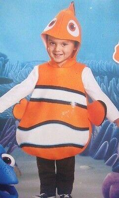 Disney Pixar Nemo Kinder Weich Schaum Kostüm Size 6 Shirt & Hosen (Disney/pixar Kostüme)