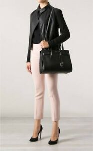 Authentic YSL Small Sac de Jour in pebbled leather
