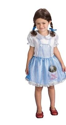 Dorothy The Wizard of Oz Costume Girls S(4-6)Free S/H - Dorothy Teen Costume