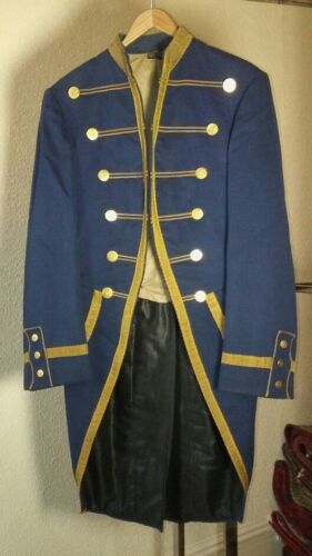 Military Style Tailcoat Uniform, Unknown Origin, Likely Late 1800s-Early 1900s