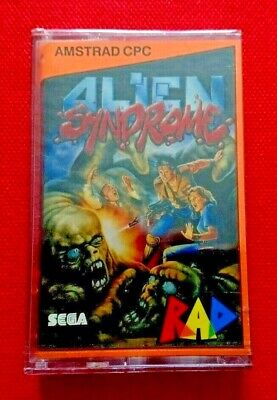 New Sealed Game Alien Syndrome For Amstrad CPC 464 Cassette Retro Gaming