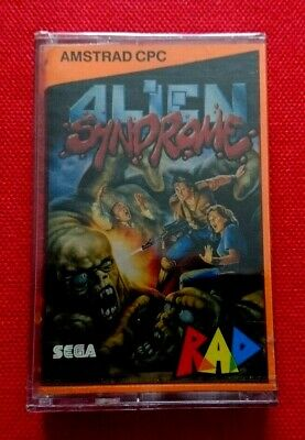Alien Syndrome Amstrad CPC 464 Game New & Sealed