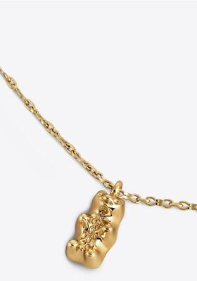 Brand New Authentic Tory Burch Gummy Pendant Necklace