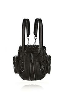 """Alexander Wang """"Marti Backpack in Washed Black with Rhodium"""" more than 50% off- Lightly used/Excellent condition!"""