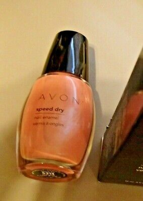 Avon Nail Polish Coral Sands speed dry New