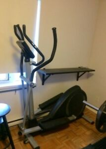 Elliptical cross-trainer