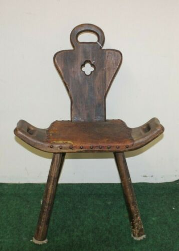 Early 20th Century Birthing Chair