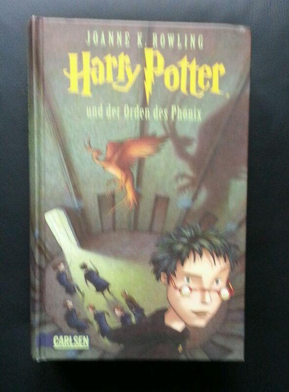 """Buch """"Harry Potter und der Orden des Phönix"""" von Joanne K. Rowling"""
