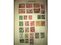 Collection of world stamps. Over 2000 stamps.