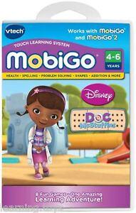 VTech MobiGo 1 2 Game Doc McStuffins 8 Fun Games One Amazing Learning Adventure