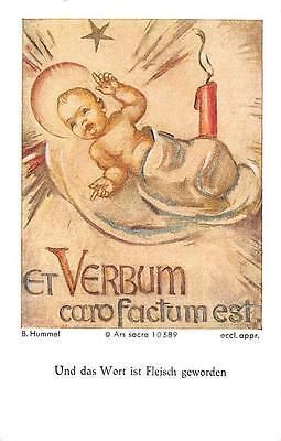 """Fleißbildchen Heiligenbild Gebetbild Hummel Holy card Ars sacra"""" H1077"""""""