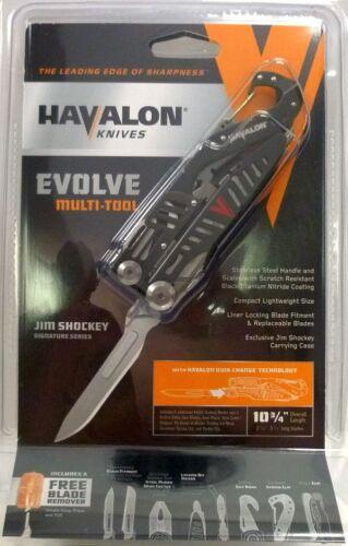 Havalon EVOLVE Multi Tool gut hook knife saw pliers stripper JIM SHOCKEY Edition