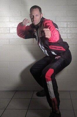 VTG Windbreaker Tracksuit Halloween Costume MMA Tae Kwon Do Karate USA Scorpion