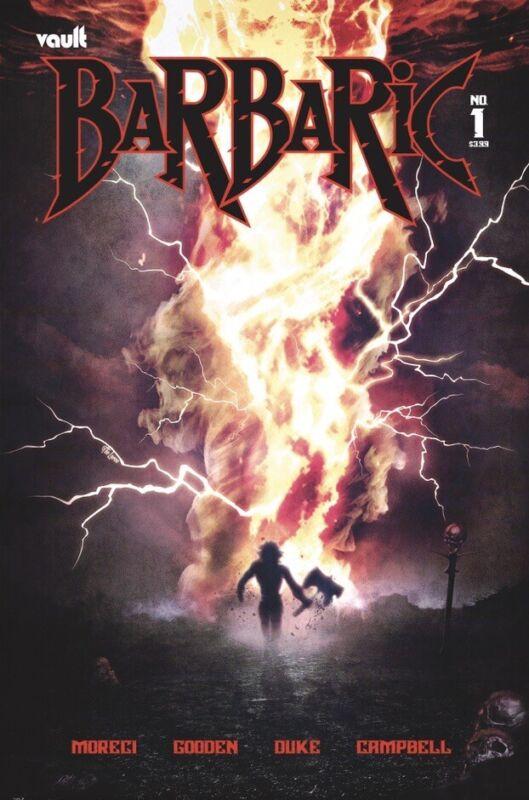 🚨🔥 BARBARIC #1 HAL LAREN 616 Exclusive Variant GOD COUNTRY LTD 500 COA NM-