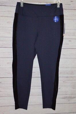 Apt.9 Women's Tuxedo Stripe Ponte  Leggings Size OX for sale  USA