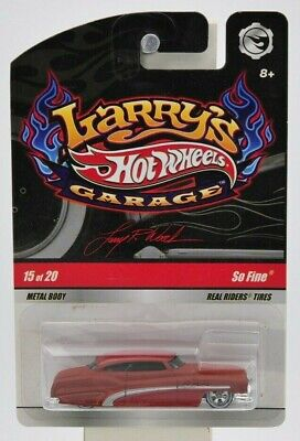 "Hot Wheels 2008 Larry's Garage ""So Fine"" (Signed) 15 of 20 ""NIP"""