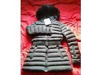 Women's moncler jacket coat parka new size 10