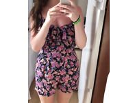 Lisp floral playsuit