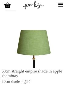 Lime Green Pooky Lampshades 30cm