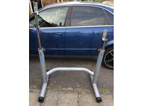 Bench Press/Squat Adjustable Height Rack