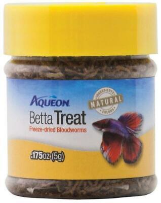 Aqueon Betta Treat Freeze-Dried Bloodworms, 0.175 Ounce