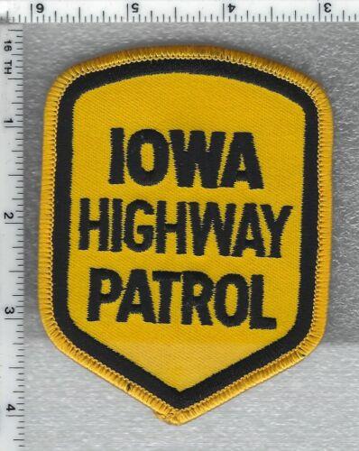 Iowa Highway Patrol Shoulder Patch version 2