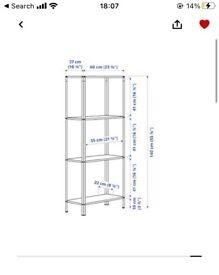 IKEA shelve unit