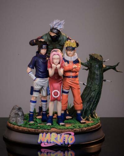 SHARK-Studio Naruto Team 7 Kakashi Naruto Sasuke Sakura Figure Resin statue