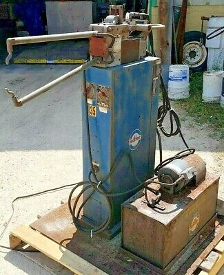 10kva Miller Portablespot Welder On Stand Wcooler Model Mps-10-aft 460v