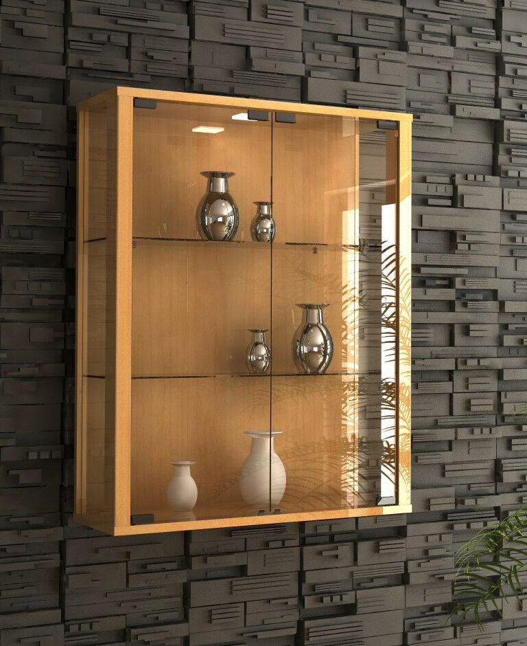 Display Cabinet Wall Mounted Toys Vapes