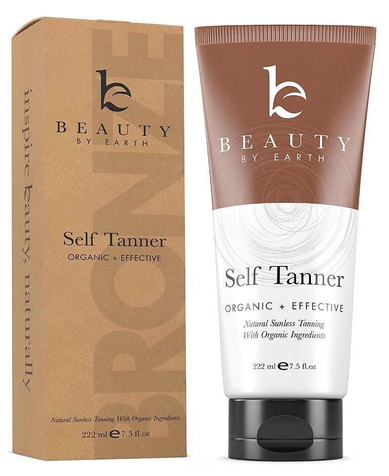 Self Tanner with Organic & Natural Ingredients, Tanning Loti