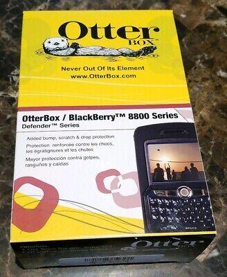OtterBox Defender Series Case for BlackBerry 8800 series - Black Blackberry Series Defender Cases