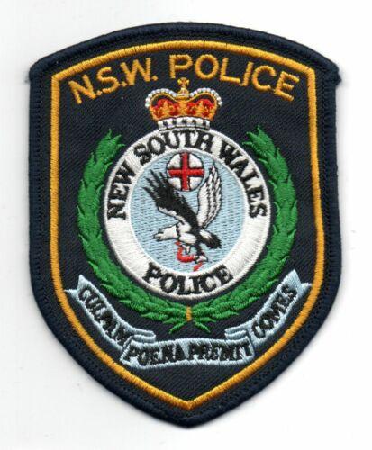 NSW New South Wales AUSTRALIA Police Patch