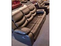 💥🤩Sofa- Brand New STYLISH RECLINER SOFA SET AVAIALABLE- Quick Delivery- 1 Year Warranty🤩