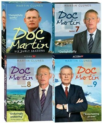 Doc Martin Complete Series Seasons 1-9 + Movies (DVD 24-Discs)
