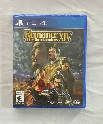 Romance of the Three Kingdoms XIV Standard Edition for PlayStation 4 (PS4) NEW