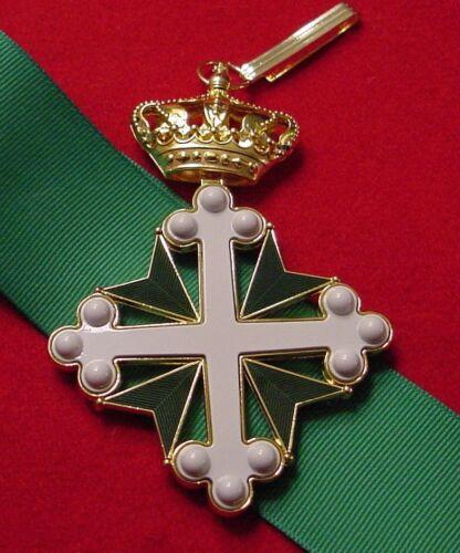 ITALY ORDER OF SAINTS MAURICE & LAZARUS COMMANDER