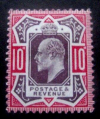 GB-1911-Purple & Carmine 10d issue-SG311-MH Good gum