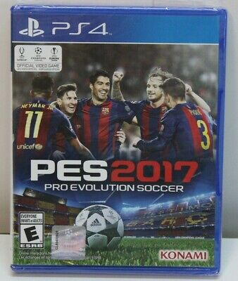 Pro Evolution Soccer 2017 Sony PlayStation 4 PS4 New
