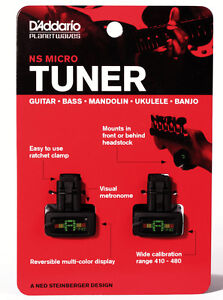 Planet Waves NS Micro Headstock Tuner Two Pack